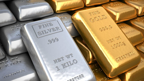 silver and gold prices