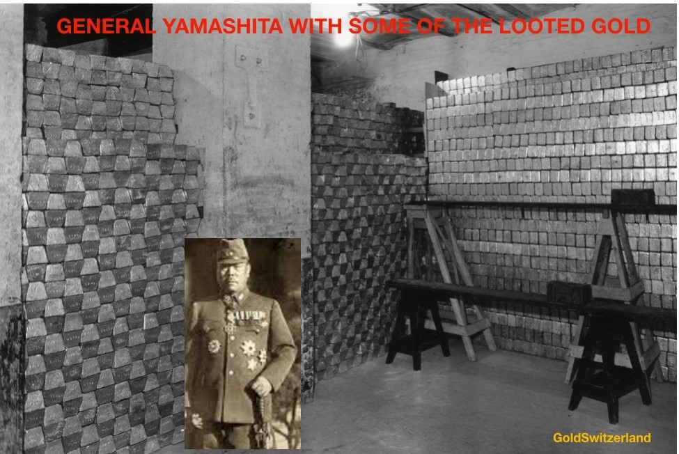 General Yamashita with looted gold