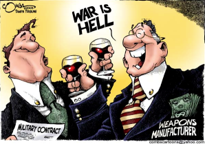 war is hell cartoon