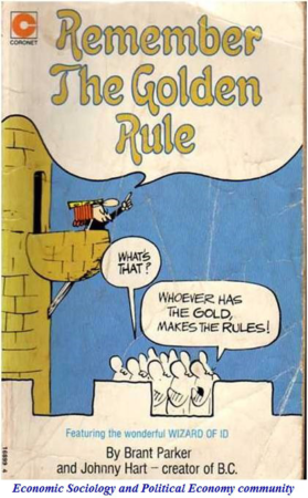 remember the golden rule cartoon