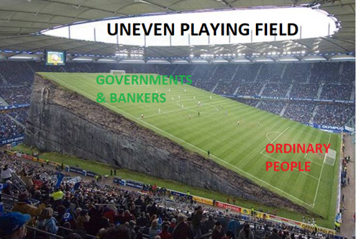 uneven playing field picture