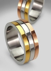 ring of gold and silver