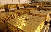 pallets of gold