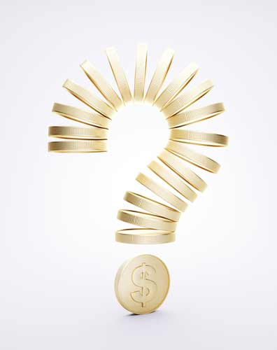 gold price question mark