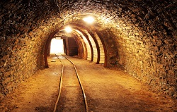 gold tunnel